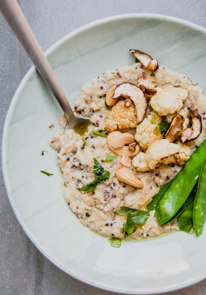 como preparar risotto vegano