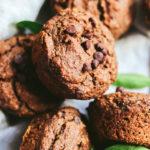 cómo hacer muffins veganos de mandarina y chocolate