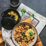 cómo preparar curry de garbanzos