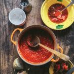 Cómo hacer salsa de tomate casera