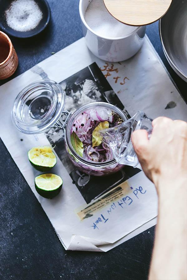 Cómo encurtir cebolla fácilmente