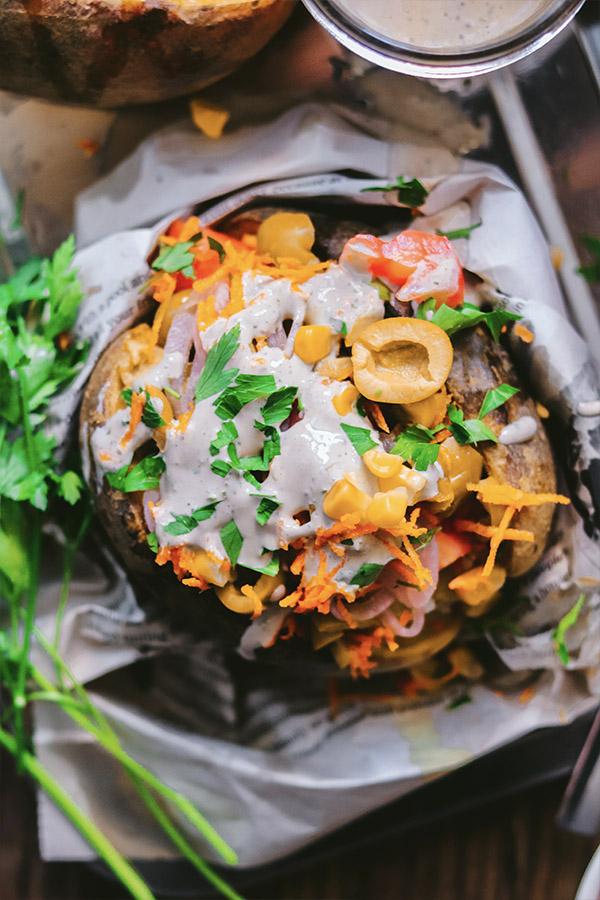 Receta patatas rellenas al horno