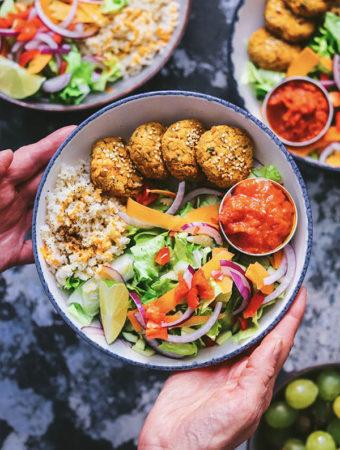Como hacer falafel expres