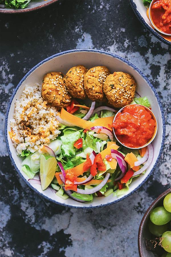 Hacer falafel en casa
