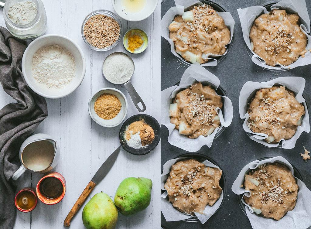 Cómo hacer muffins sin gluten y vegano
