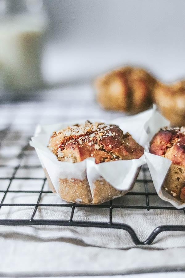Deliciosos muffins veganos