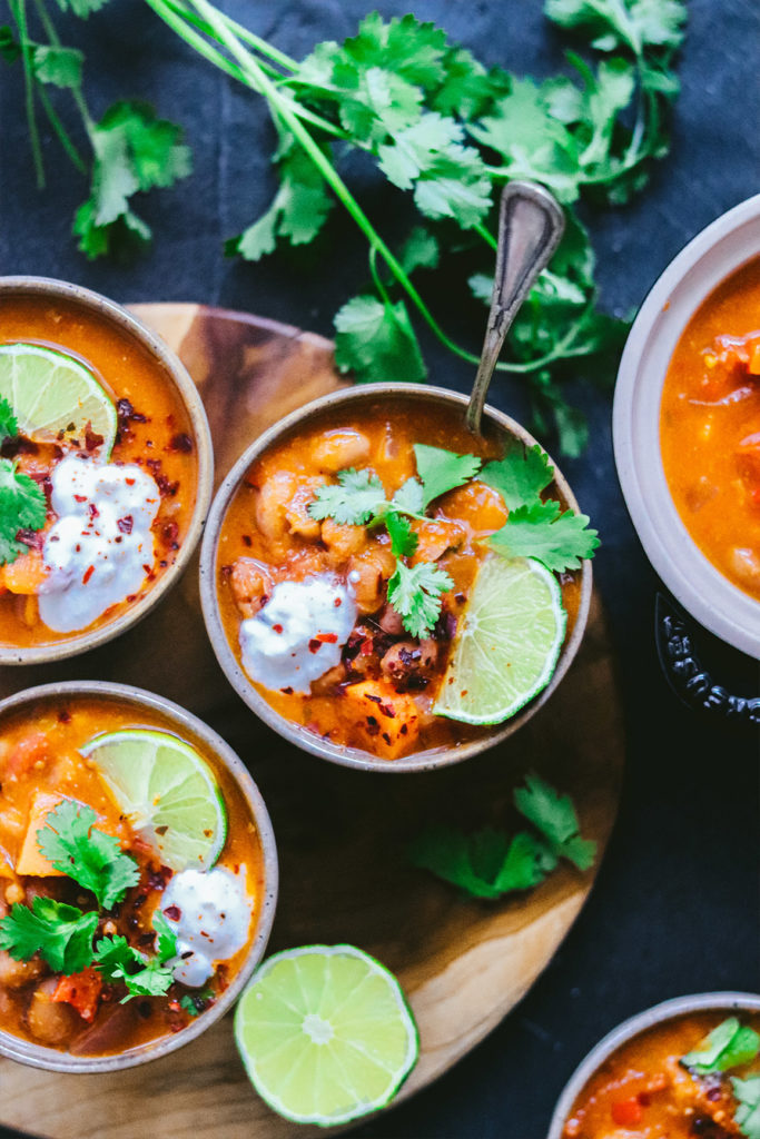 Chili vegano receta