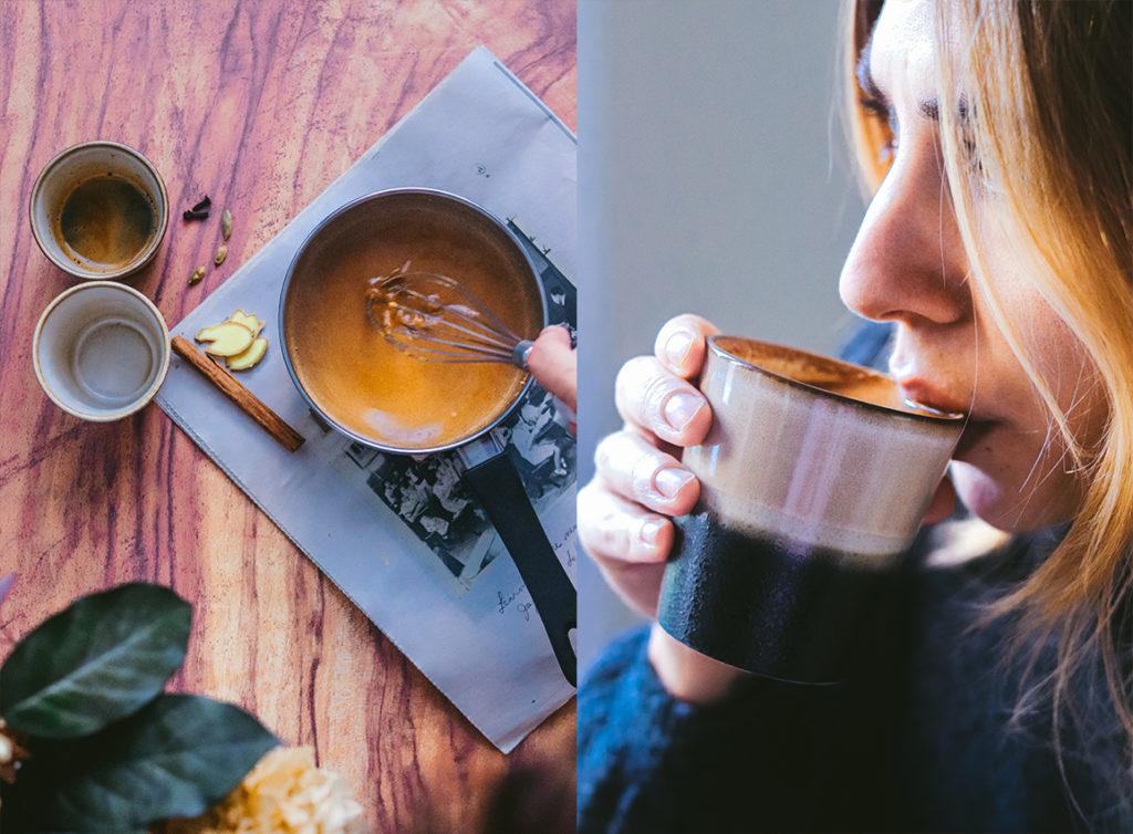Receta del pumpkin latte