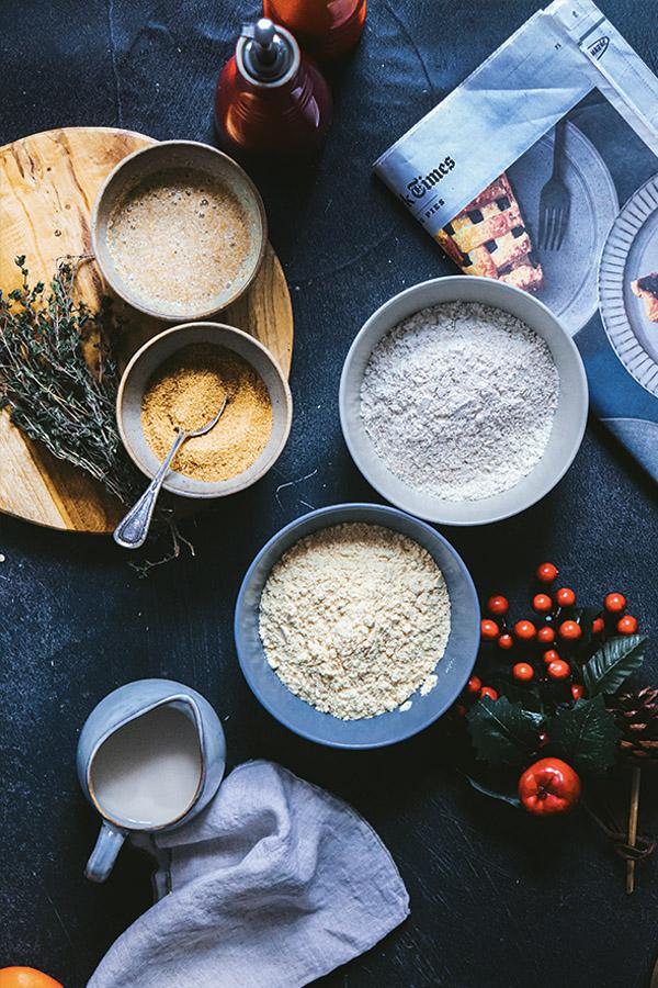 Pan de maiz casero