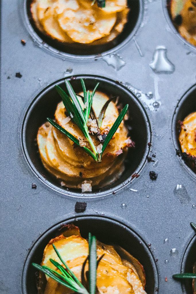 patatas parmesanas al horno