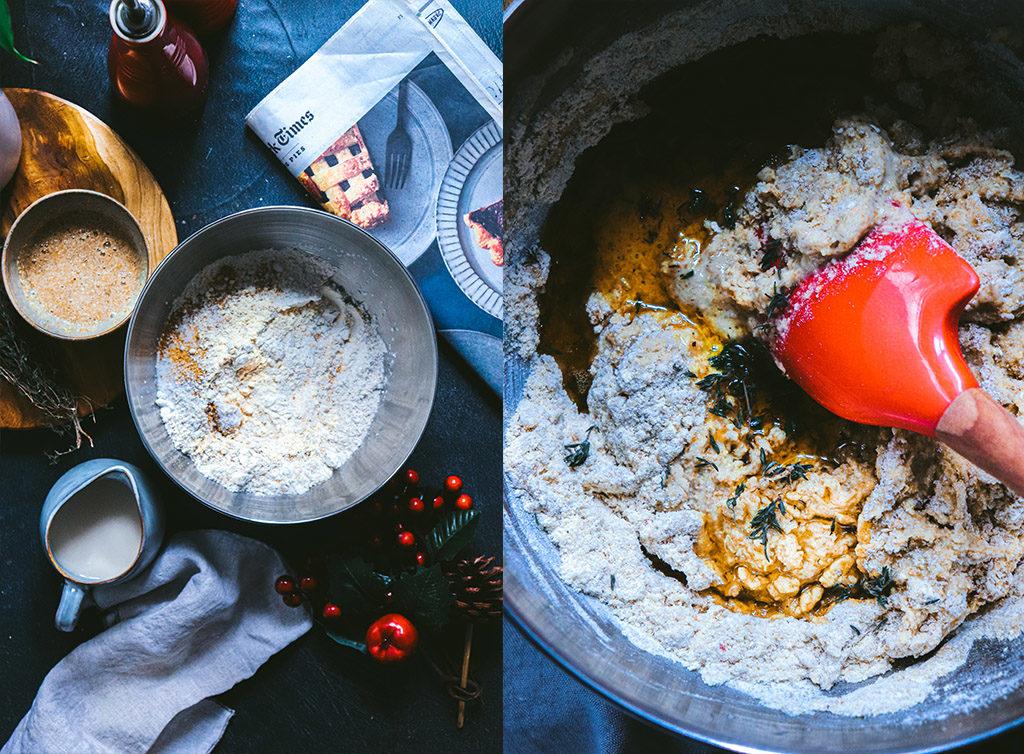 Pan de maíz a la sartén