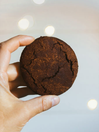 Galletas de brownie veganas y sin gluten