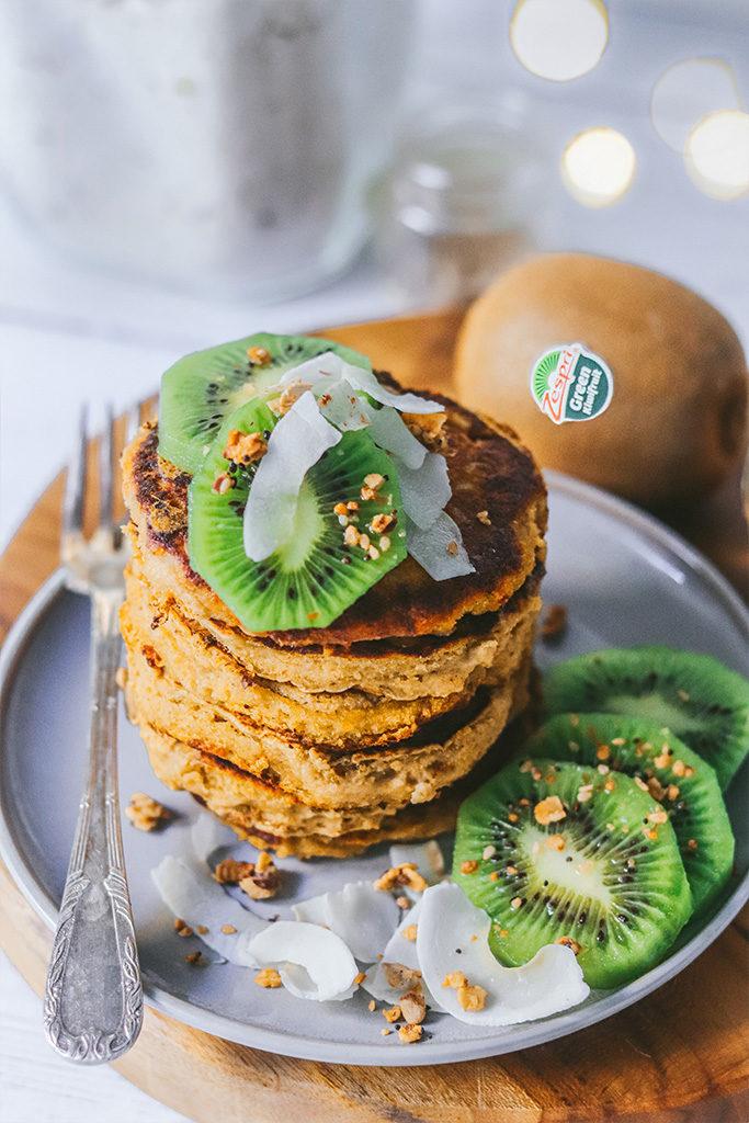receta tortitas veganas