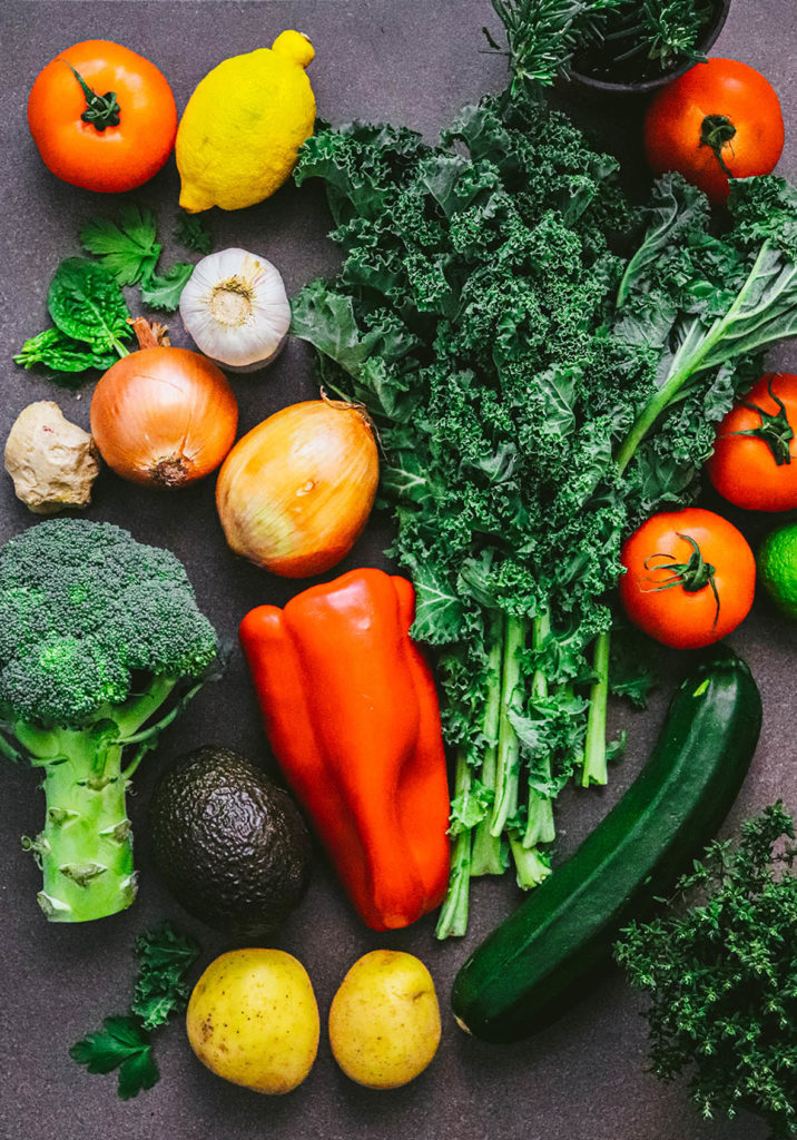 ingredientes veganos lista