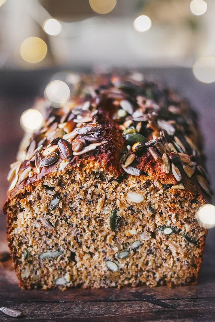 Pan de semillas casero fácil
