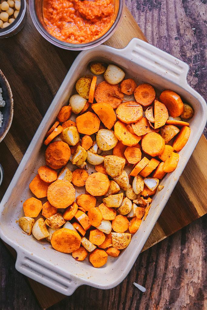 receta cous cous con verduras