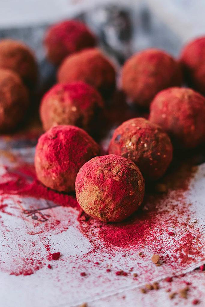Energy balls receta