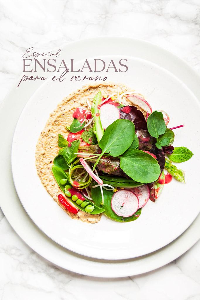 ensaladas de verano rapidas y faciles