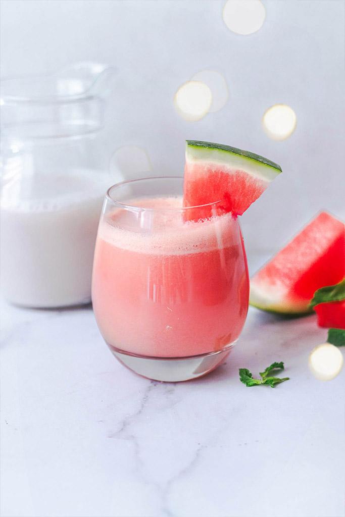Bebida de sandía saludable