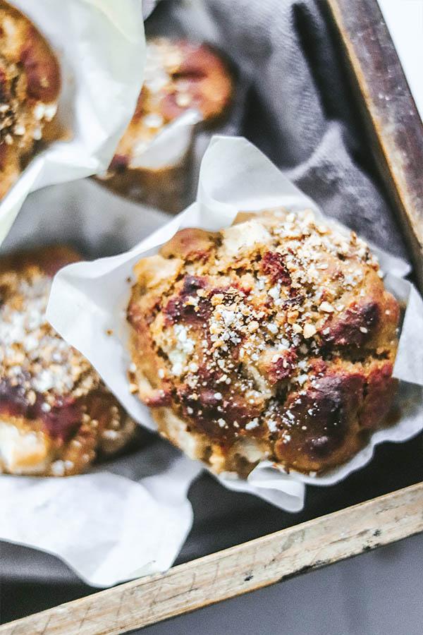 receta muffins de pera