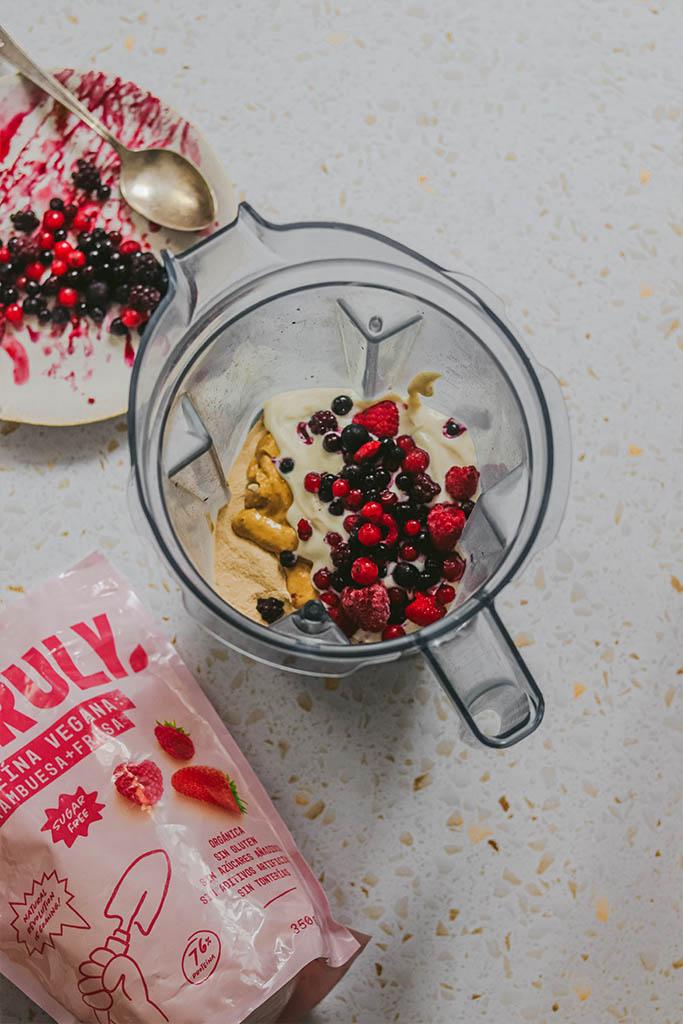 snack proteico casero