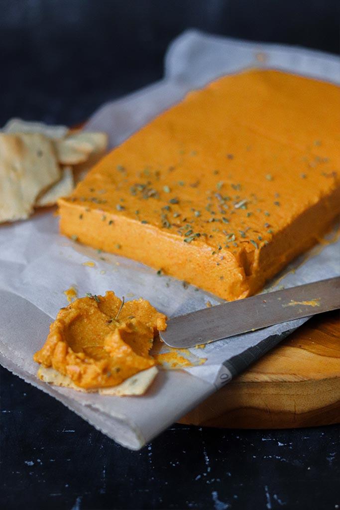queso vegano facil
