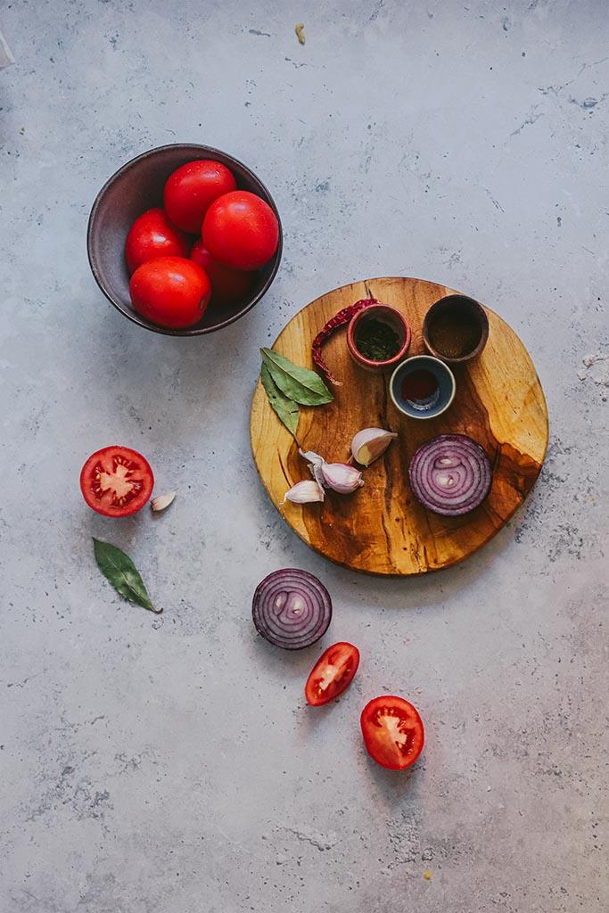 plato de verduras facil