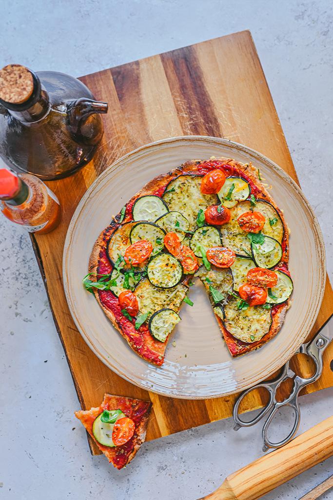 pizza de espelta casera