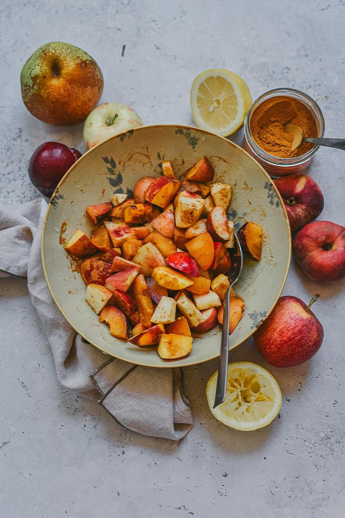 fruta al horno recetas