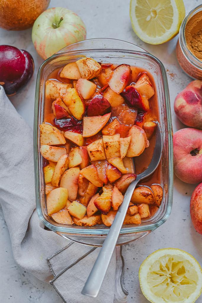 frutas al horno beneficios